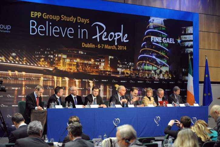 EPP Group Study Days in Dublin, Ireland