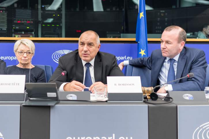 EPP Group meeting in the presence of the Bulgarian Prime Minister