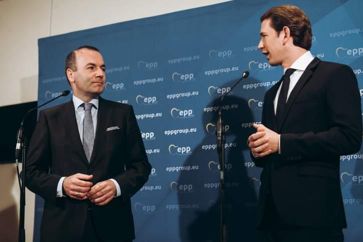 EPP Group Bureau Meeting in Vienna