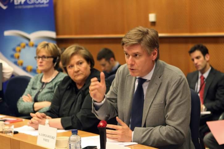 EPP Group meets Euromed Ambassadors - Antonio López-Istúriz White MEP takes the floor