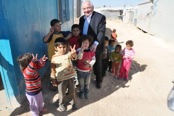 Visit to the Zaatari refugee camp in Jordan