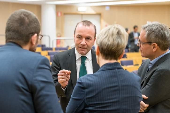 Pressekonferenz über die Wahl des nächsten Präsidenten des Europäischen Parlaments