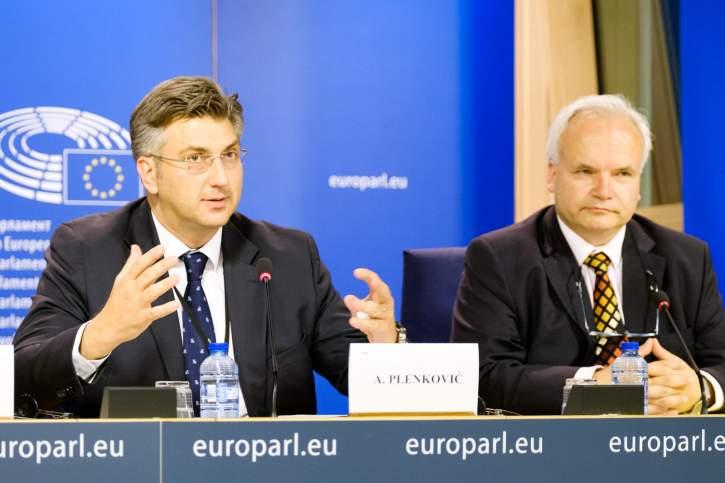 Pressekonferenz über die Justizreform in der Ukraine