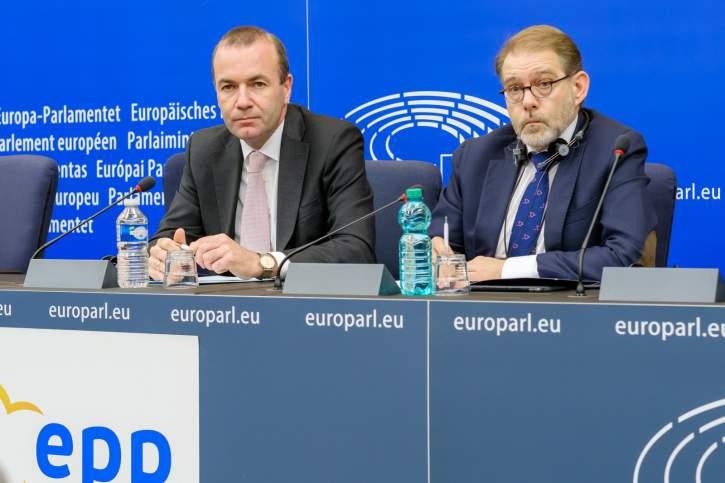 Pressebriefing der EVP-Fraktion zur ersten Oktober-Plenarsitzung