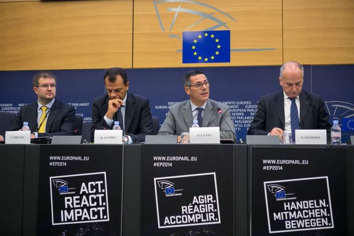 Press conference on EUROSUR, new EU migratory policies in the Mediterranean sea border controls