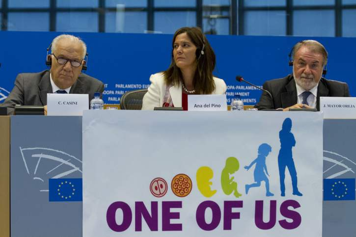 Press conference on the European Citizens' Initiative: One of Us