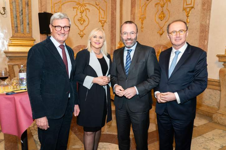 EPP Group Presidency and Heads of National Delegations in Salzburg