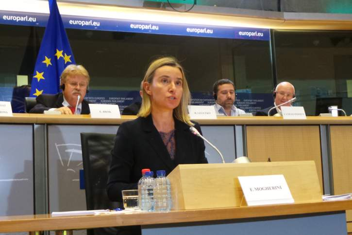 Question to Federica Mogherini on EU solidarity, relations
