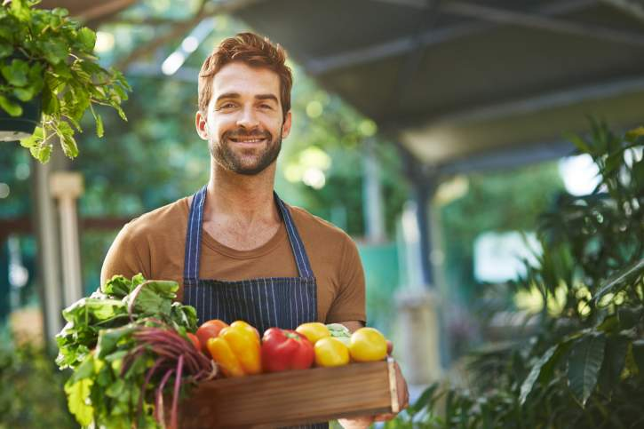 Organically grown produce without the pesticides