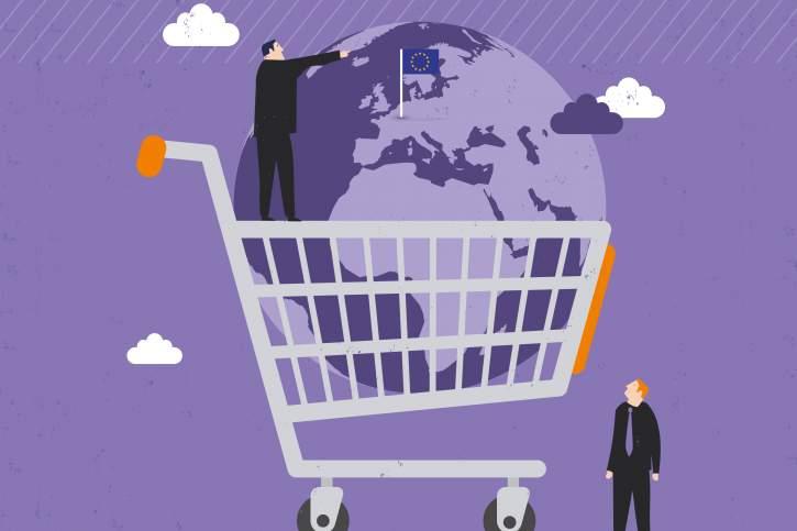 daugiašalę prekybos sistemą