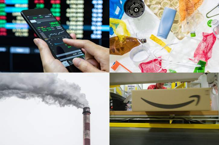 Four possible own resources: digital, financial, plastic and CO2