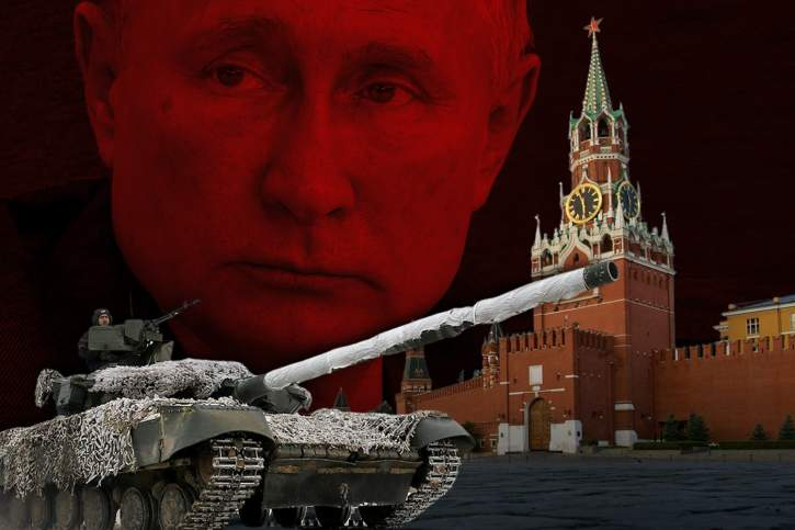 Putin tank [nid:111582]