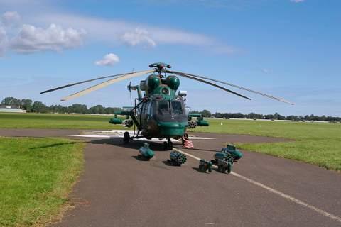 Anaconda, polish helicopters