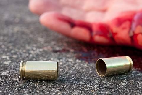 Man shot in street
