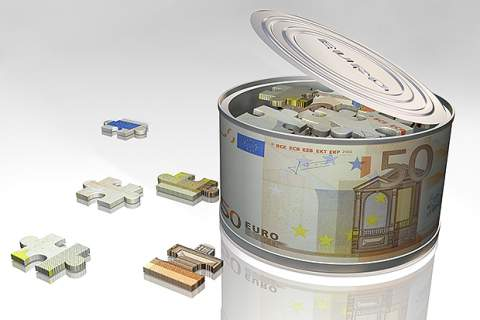 Can of euro puzzles