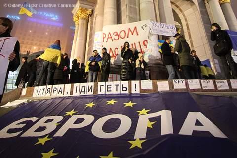Ukrainian manifestation
