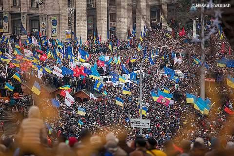 demonstrations in Ukraine