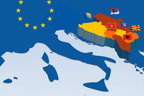 map of Balkans