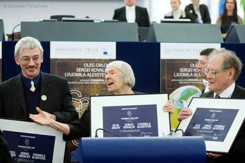 Memorial - Sakharov Prize 2009