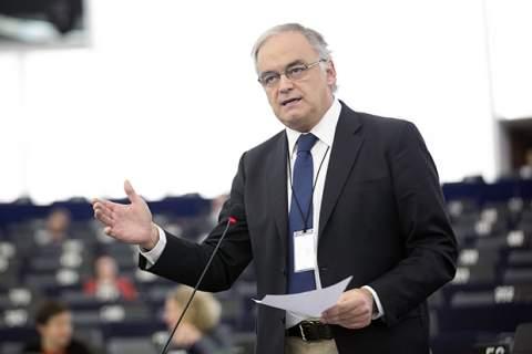 Esteban González Pons during debates on European border and Coast Guard Package