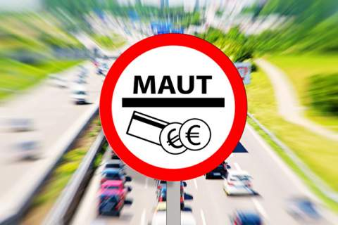 Maut - Toll on highway