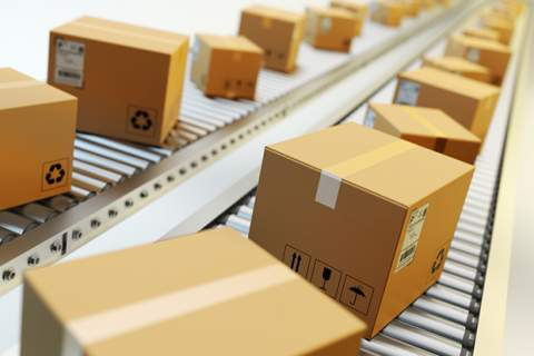 Packages delivery, packaging service and parcels transportation system