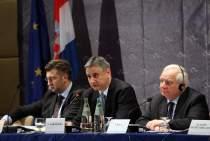 Tomislav Karamarko takes the floor