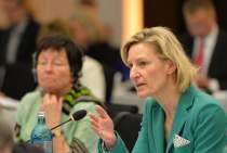 Angelika Niebler MEP addresses the EPP Group Bureau Meeting