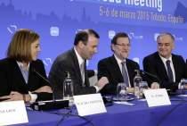 Vorstandssitzung der EVP-Fraktion in Toledo, Spanien