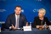 Sitzung des EVP-Fraktionsvorstandes und der Vorsitzenden der nationalen Delegationen