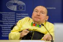 Press conference on the rights of disabled people in Poland