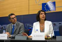 Press conference on the fight against youth unemployment in Europe