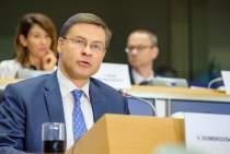 Hearing of Commissioner-designate Valdis Dombrovskis