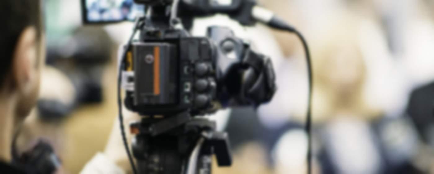 cameraman working