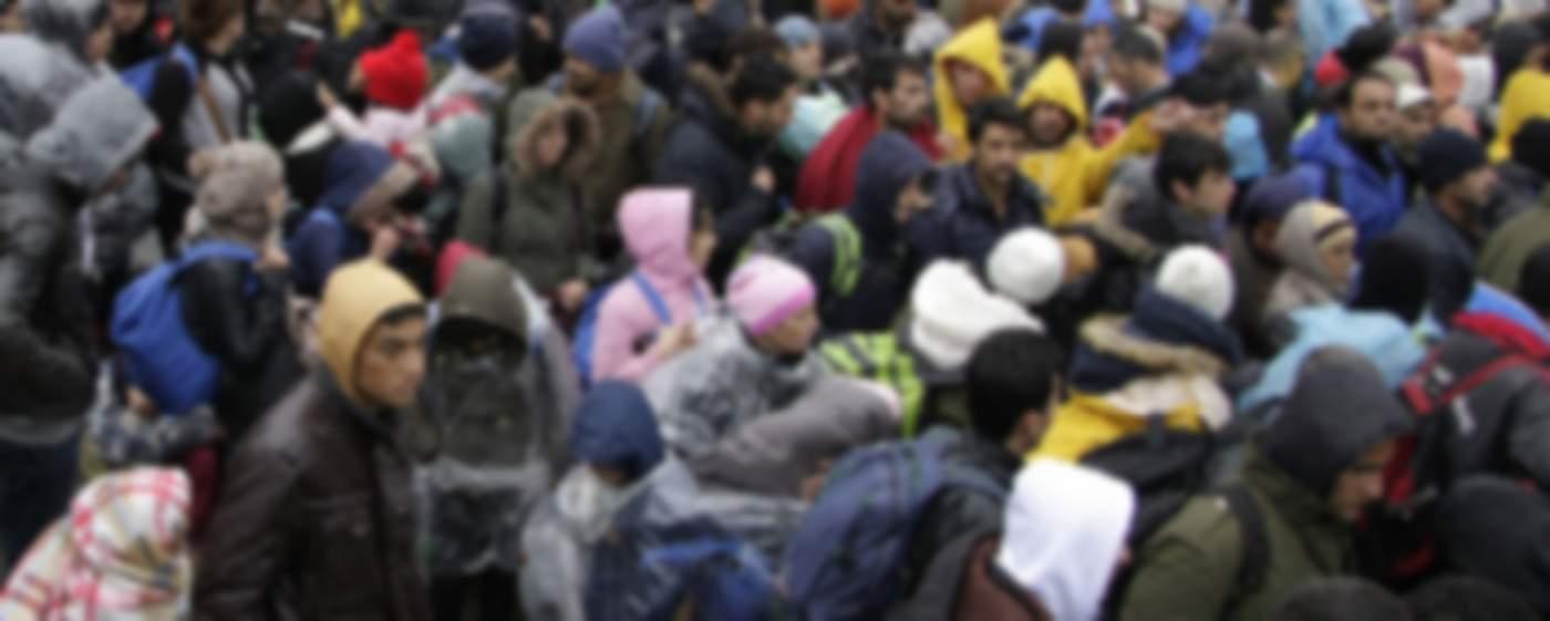 Πρόσφυγες σε ελληνικό νησί