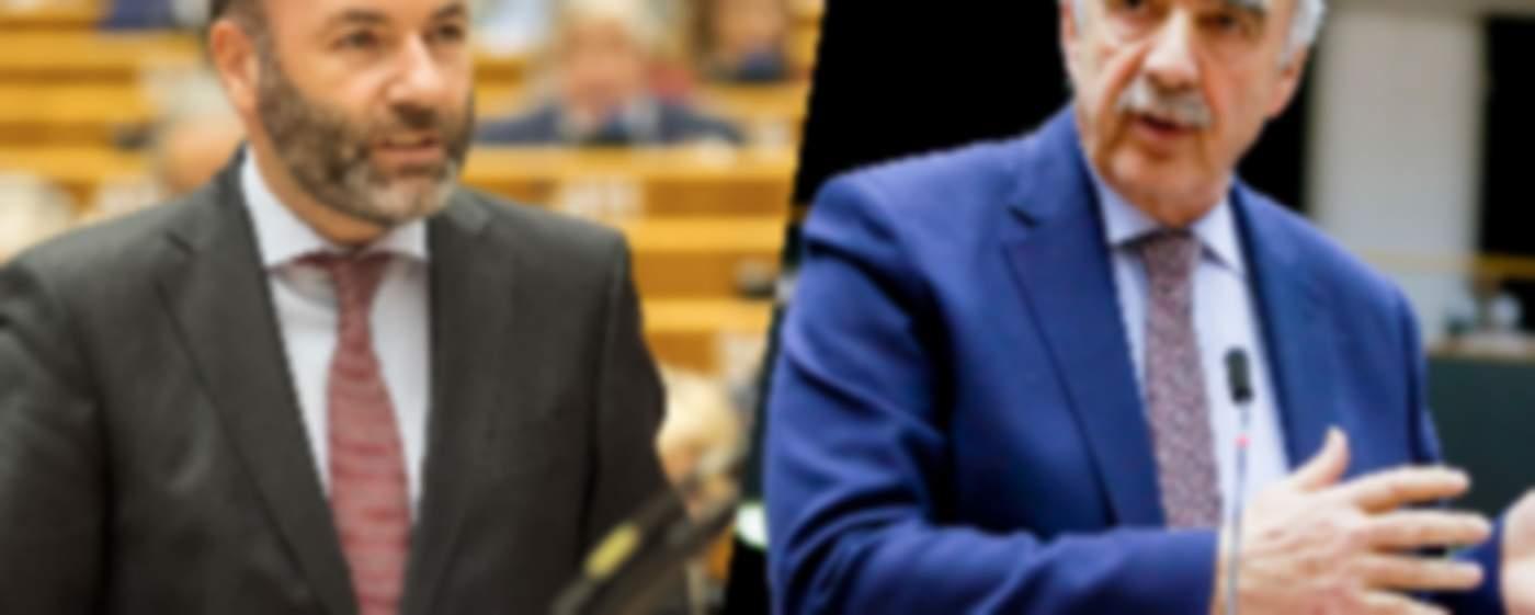 Manfred Weber - Vangelis Meimarakis