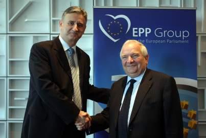 Photo of Joseph Daul meets Tomislav Karamarko