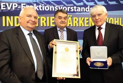 Schuman Medal awarded to Reiner Kunze