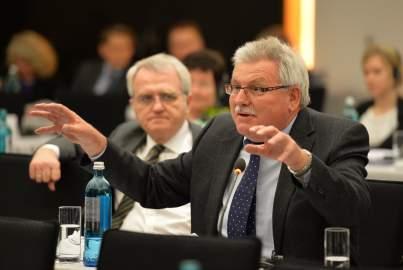 Werner Langen MEP addresses the EPP Group Bureau Meeting