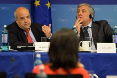 Markus Kerber addresses the EPP Group Bureau Meeting