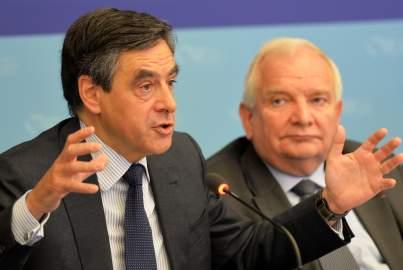 François Fillon takes the floor