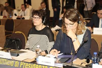 Vorstandssitzung der EVP-Fraktion in Mailand, Italien