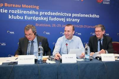 Vorstandssitzung in Bratislava