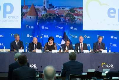 Réunion du Bureau du Groupe PPE à Tallinn, Estonie