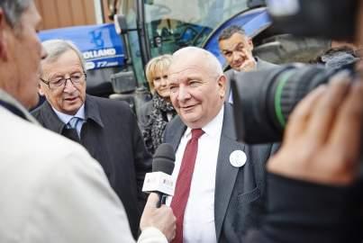 Juncker campaign trail