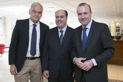 Treffen mit Julio Borges, Präsident der venezolanischen Nationalversammlung