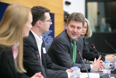 Press conference on client data protection within the EU