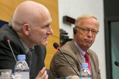 The EU welcomes Ales Bialatski