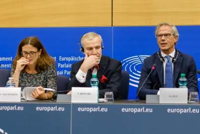 Pressekonferenz über schärfere Antidumping-Regeln zur Verteidigung von Industrie und Arbeitsplätzen in der EU