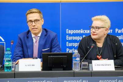 Press conference on the future of Europe